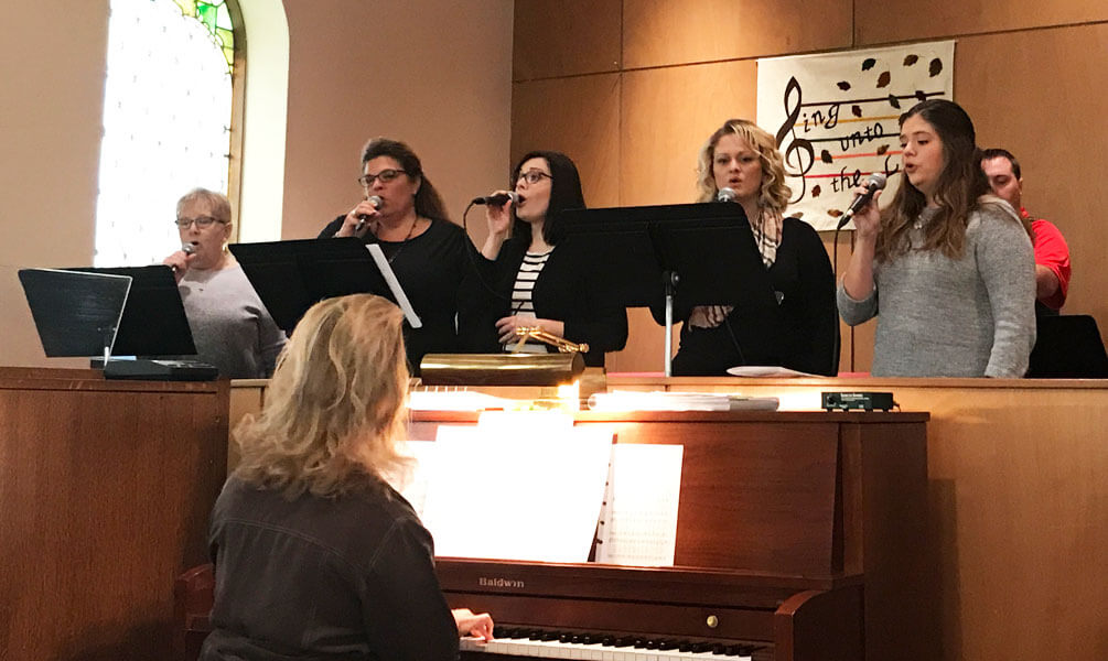Music at First Presbyterian Church, Williamsburg, Iowa